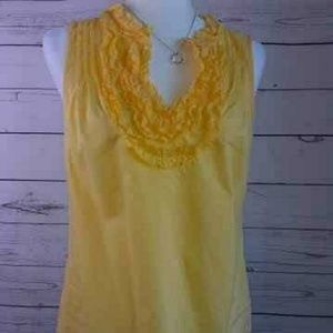 Ann Taylor LOFT Women's Blouse Top Sleeveless